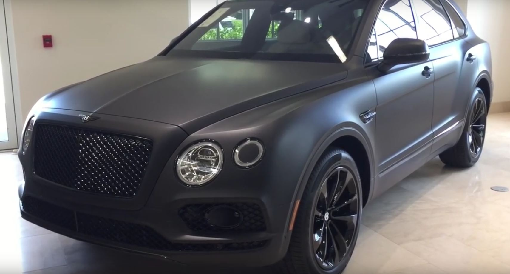 Bentley Bentayga Stealth Edition Is The First One With A Matte Black Look Autoevolution