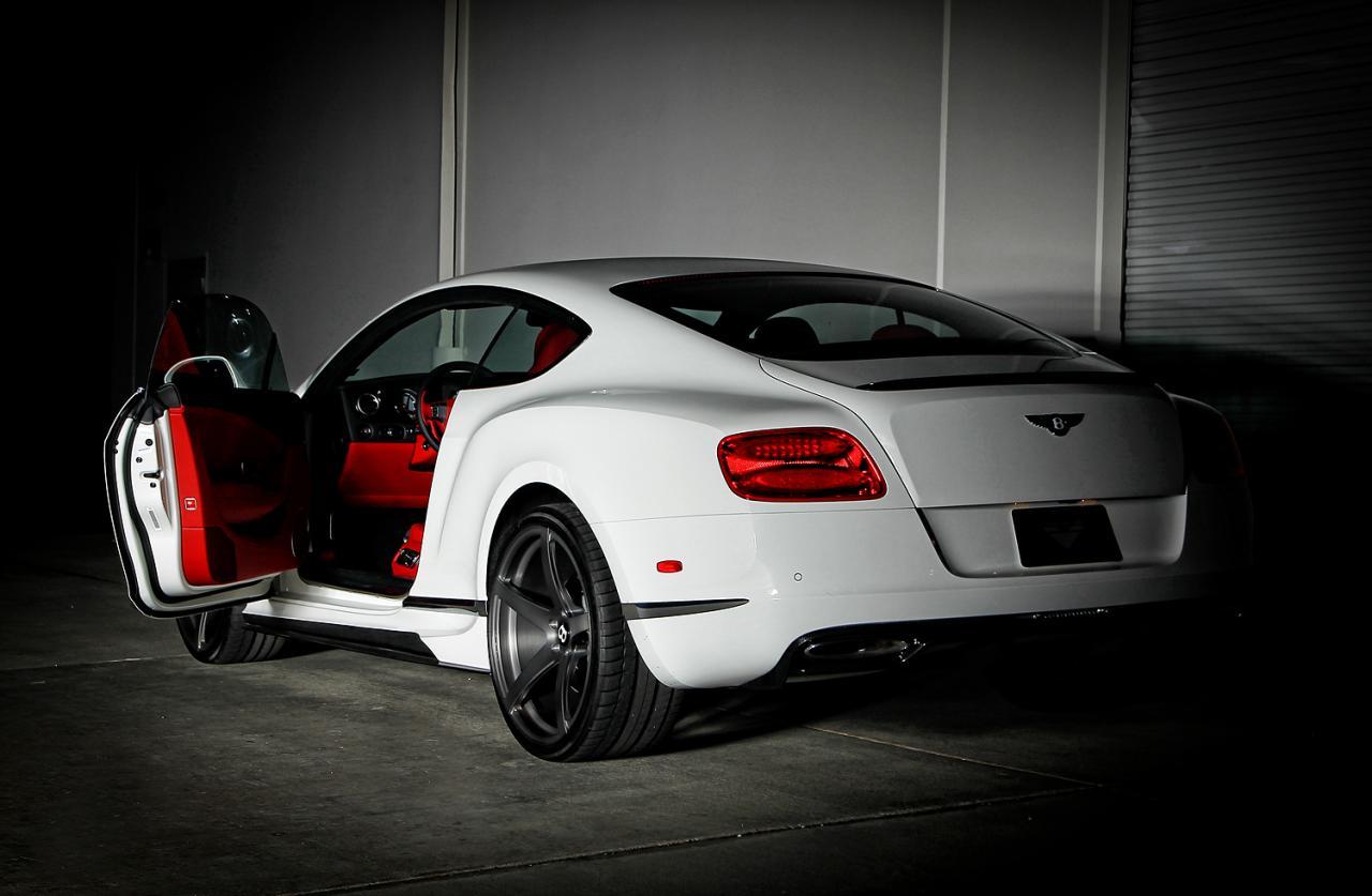 Bentley Continental Gt Br 10 By Vorsteiner Unveiled Photo