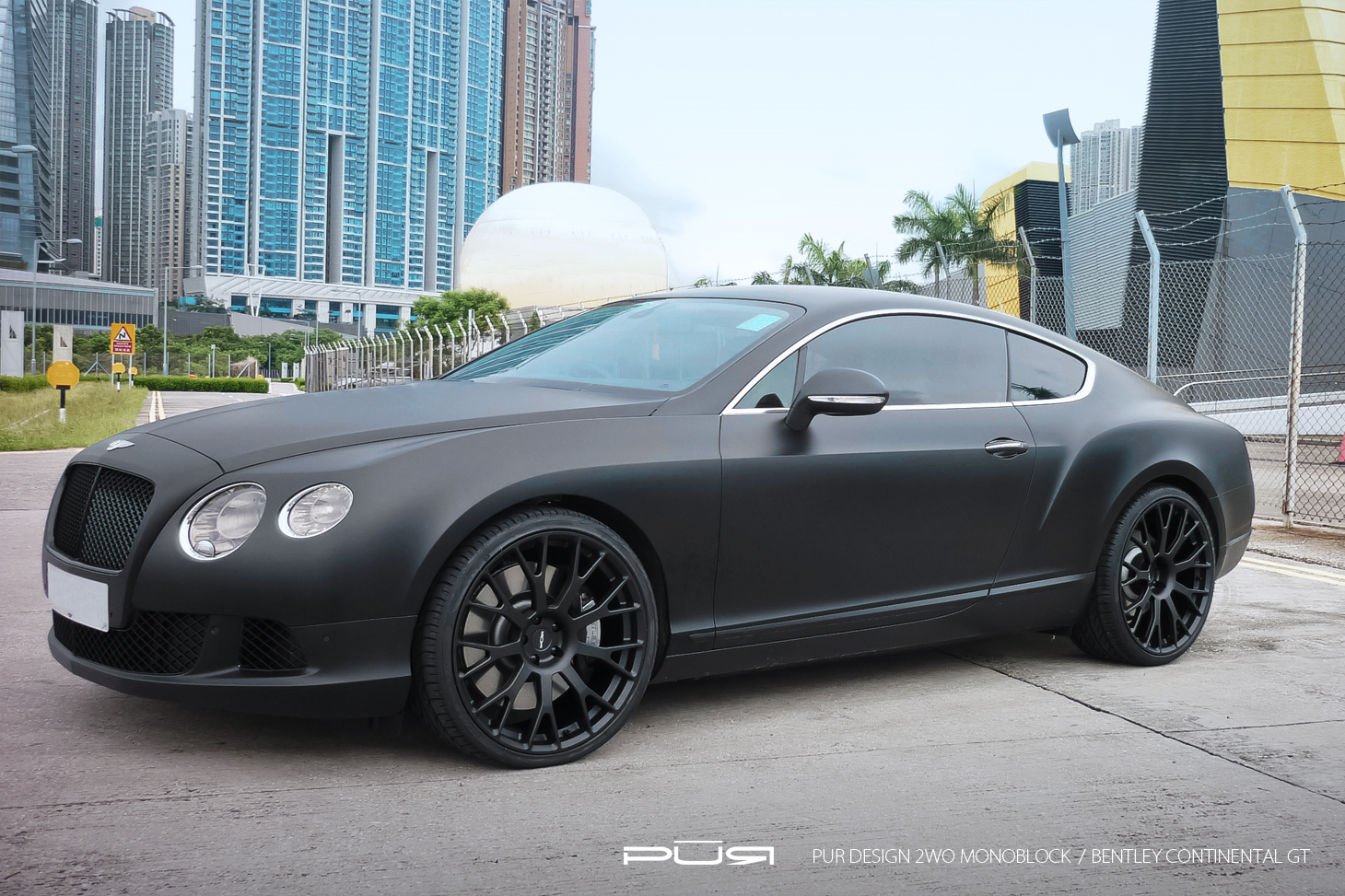 Black bentley images reverse search filename bentley continental gt in matte black rides on pur wheels photo gallery2g vanachro Choice Image