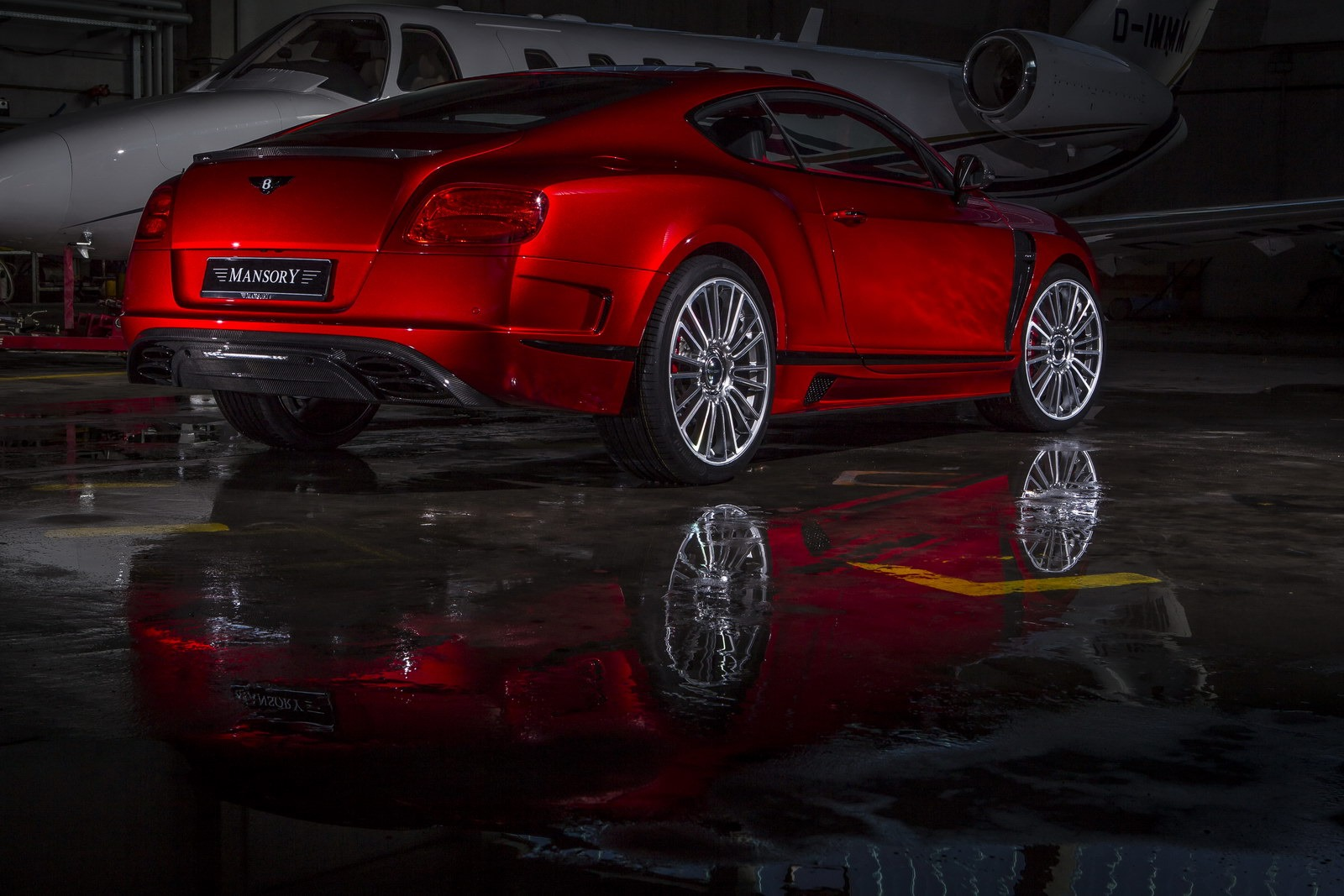 Bentley Continental Gt Quot Sanguis Quot By Mansory Autoevolution