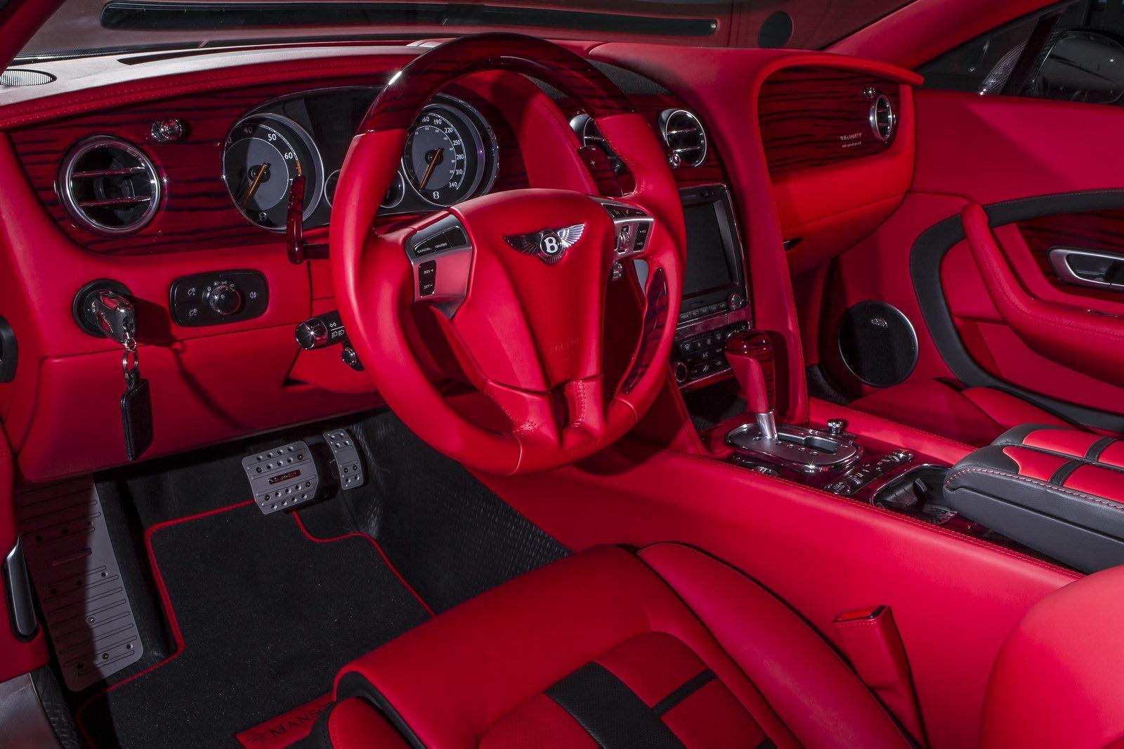 Bentley Continental Gt Quot Sanguis Quot By Mansory Autoevolution