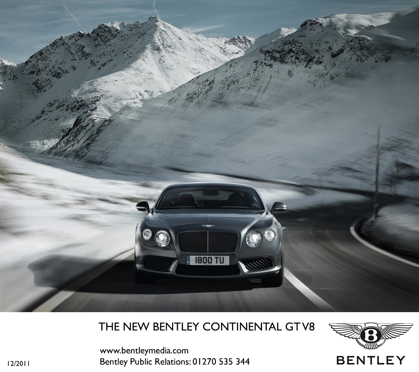 Bentley Continental GT V8 Official Info And Photos