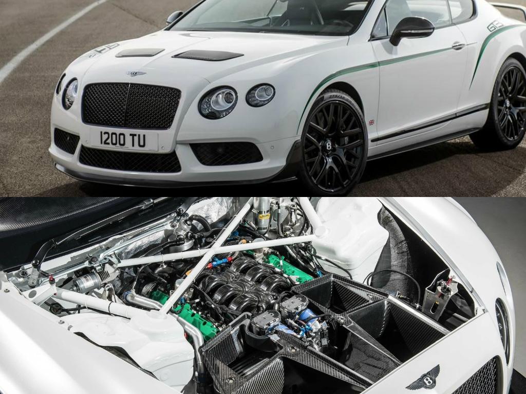 Bentley Continental Gt3 R Vs Gt3 Racecar Comparison How