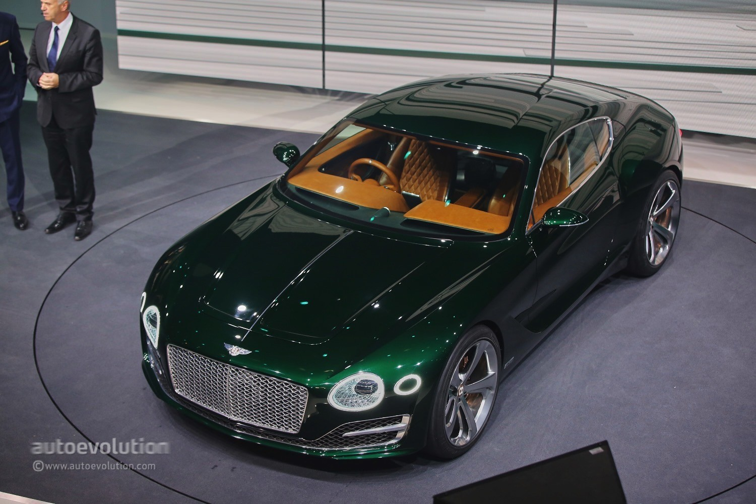 Bentley Flying Spur Modified >> Bentley EXP 10 Speed 6 Black Edition Rendered as the 2018 Continental GT - autoevolution