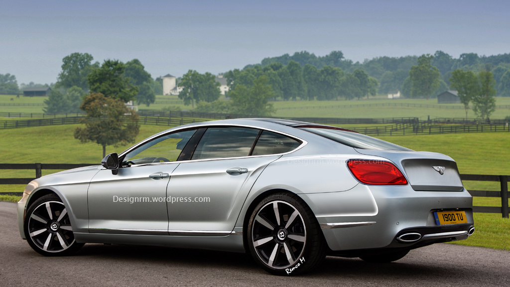 Bentley Four Door Coupe Comes Alive In Latest Renderings