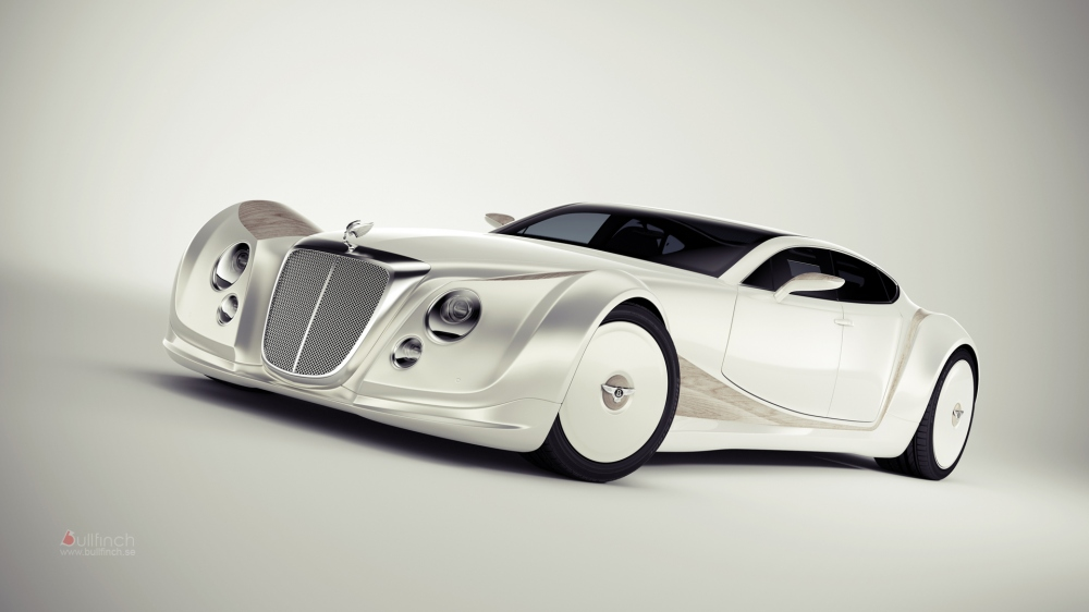 Bentley Luxury Concept Is A Blast From The Past