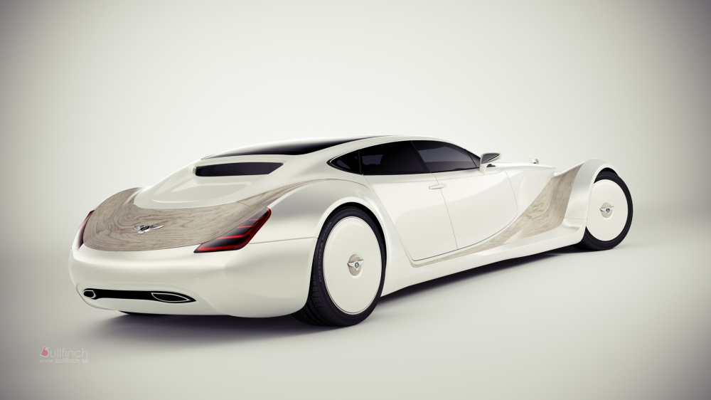 Car Won T Start >> Bentley Luxury Concept Is a Blast from the Past - autoevolution