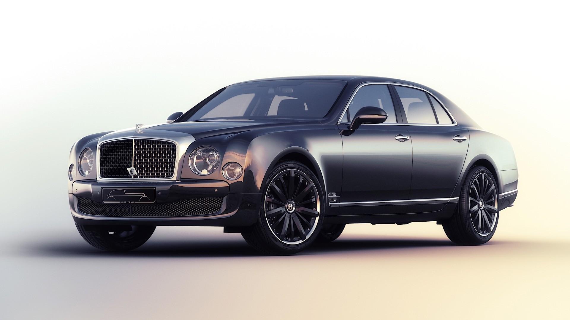 Bentley Mulsanne Speed Blue Train Is One Lavish Special
