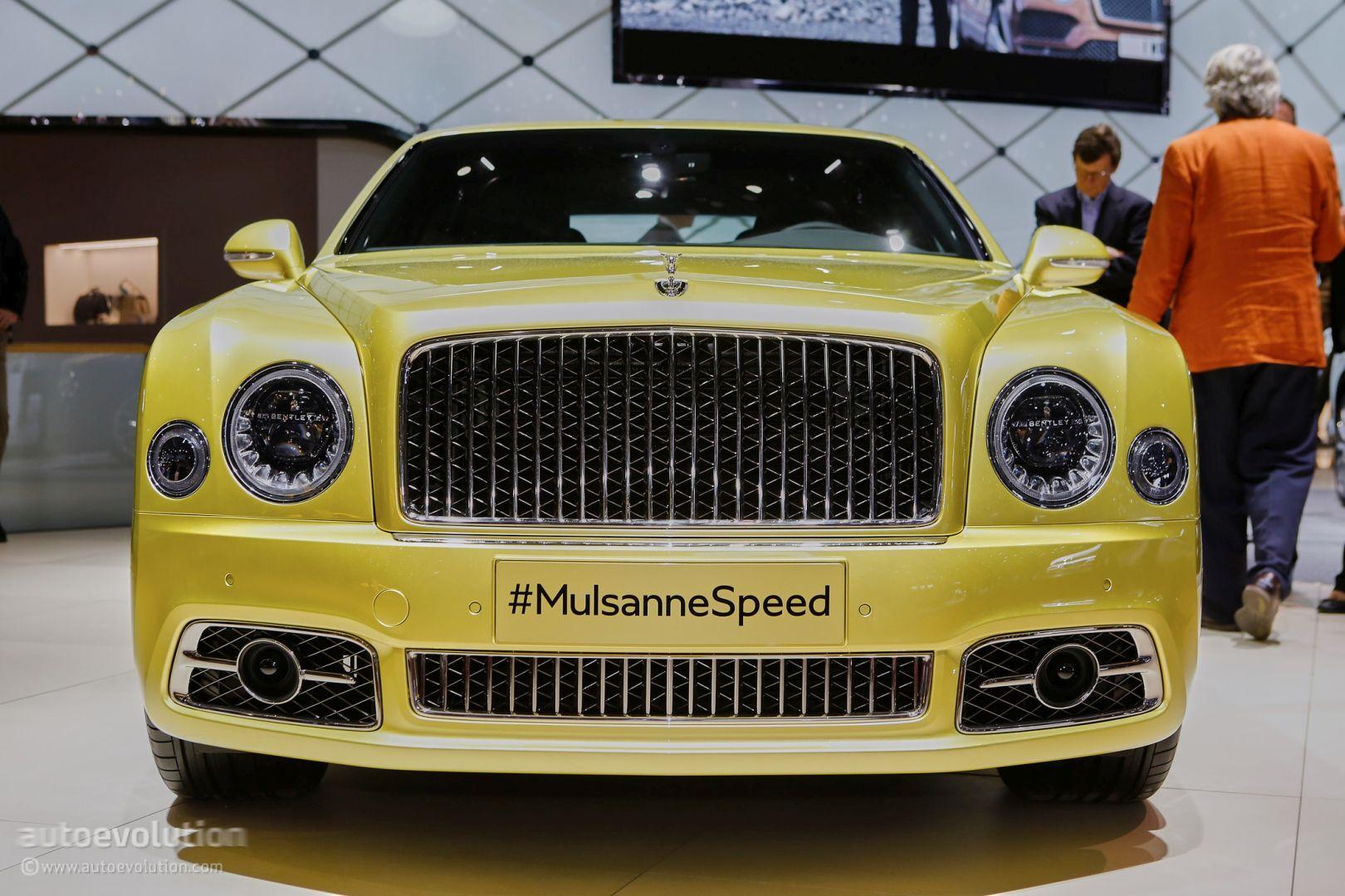 2017 Bentley Mulsanne Speed Brings Reasonable Velocity To