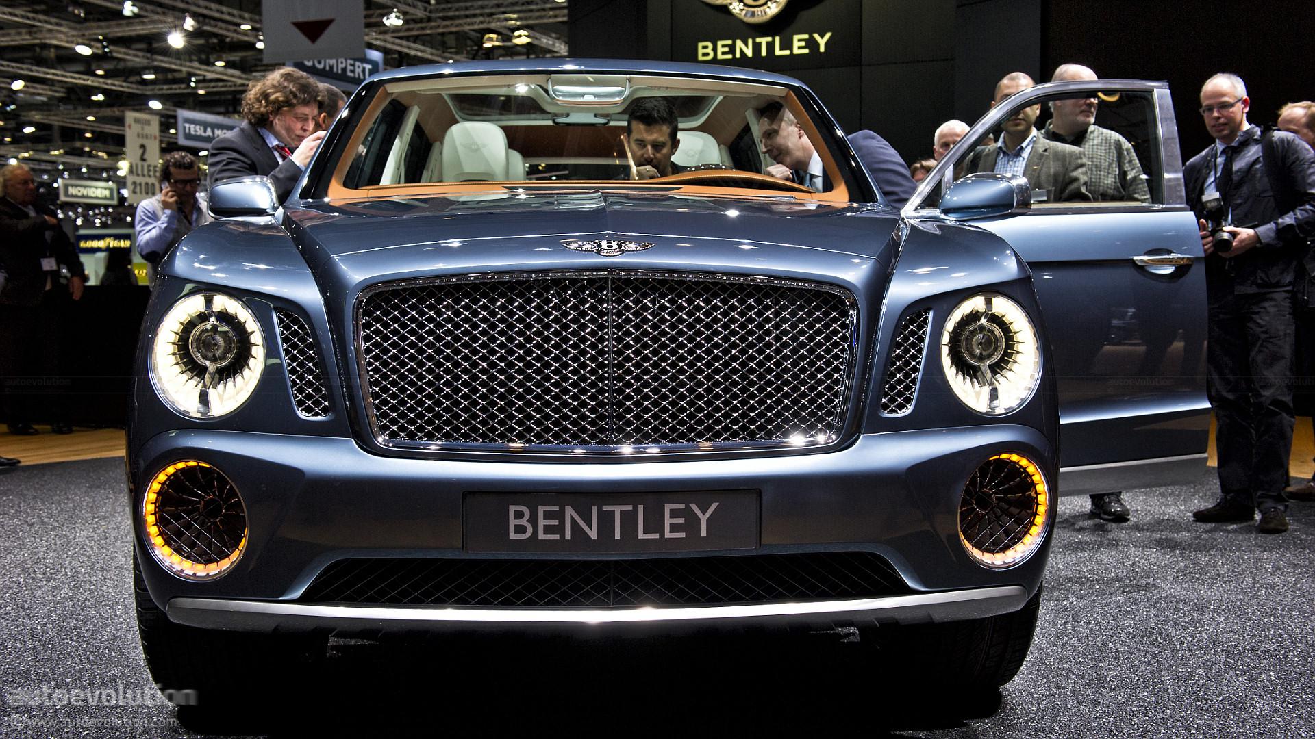 Black Qx70 >> Bentley SUV Gets Production Green Light - autoevolution