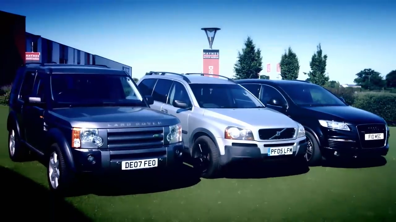 Best Used Large Suvs Fifth Gear Likes Volvo Xc90 Over Discovery And Q7