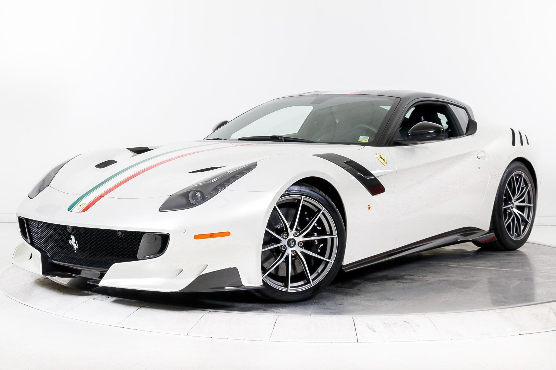Bianco Italia Ferrari F12tdf Looks Like Automotive Eye Candy Autoevolution