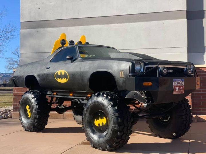 big batmobile colorado is a lifted 73