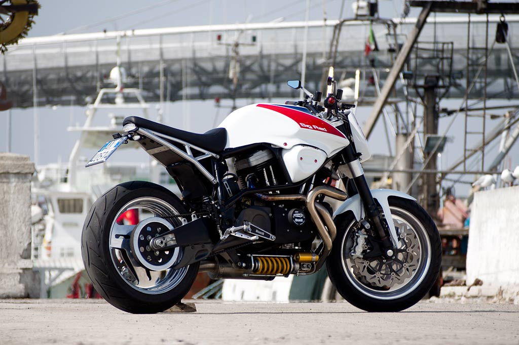 Big Red Buell X1 By Officine Rossopuro Autoevolution