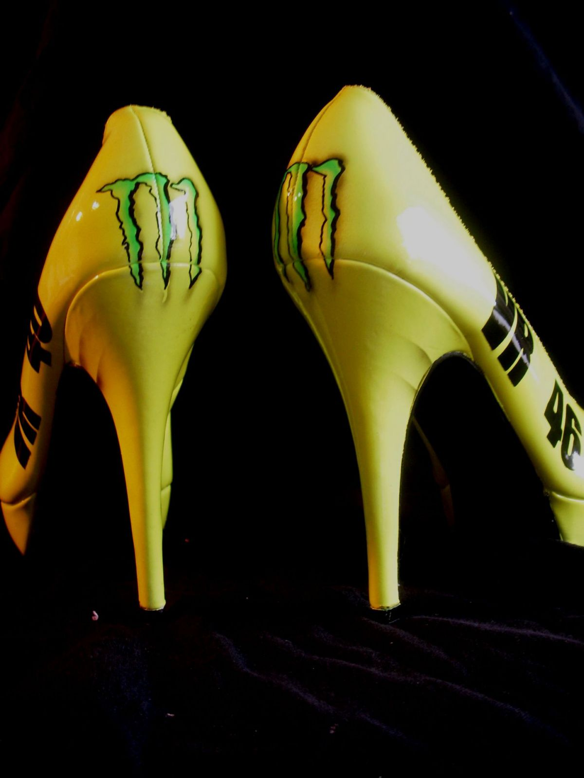 bikebranded high heels look very sexy autoevolution