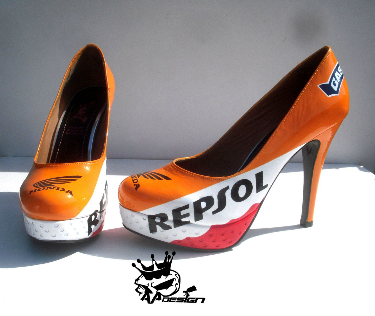 Bike Branded High Heels Look Very Sexy Autoevolution