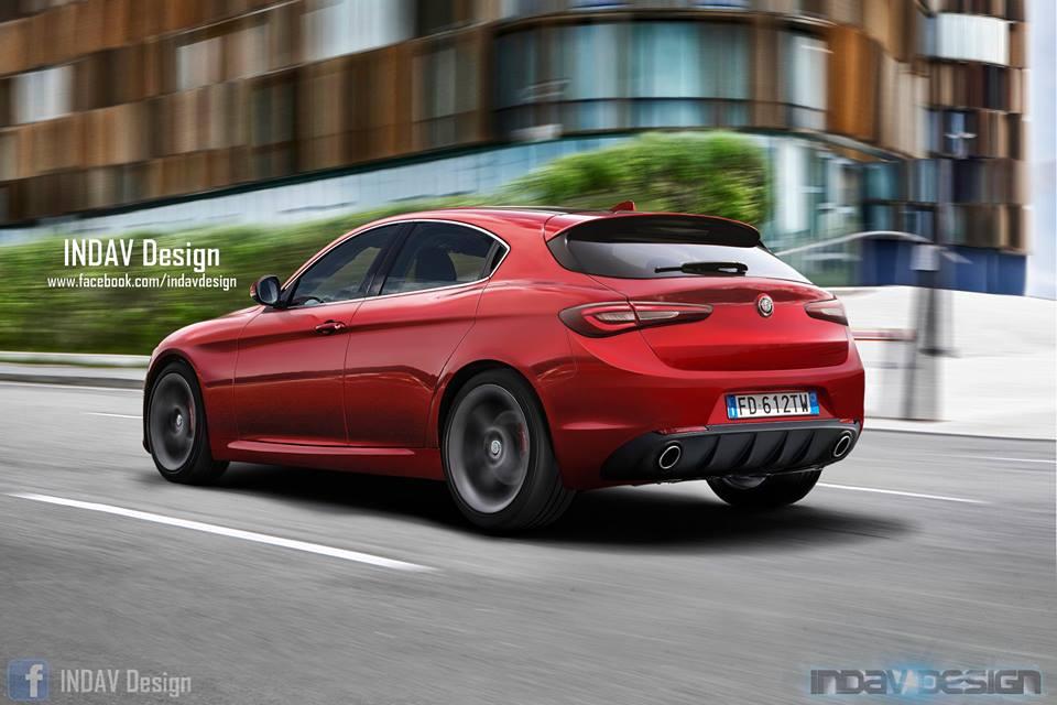 Alfa Romeo Mito With Gullwing Doors Autoevolution