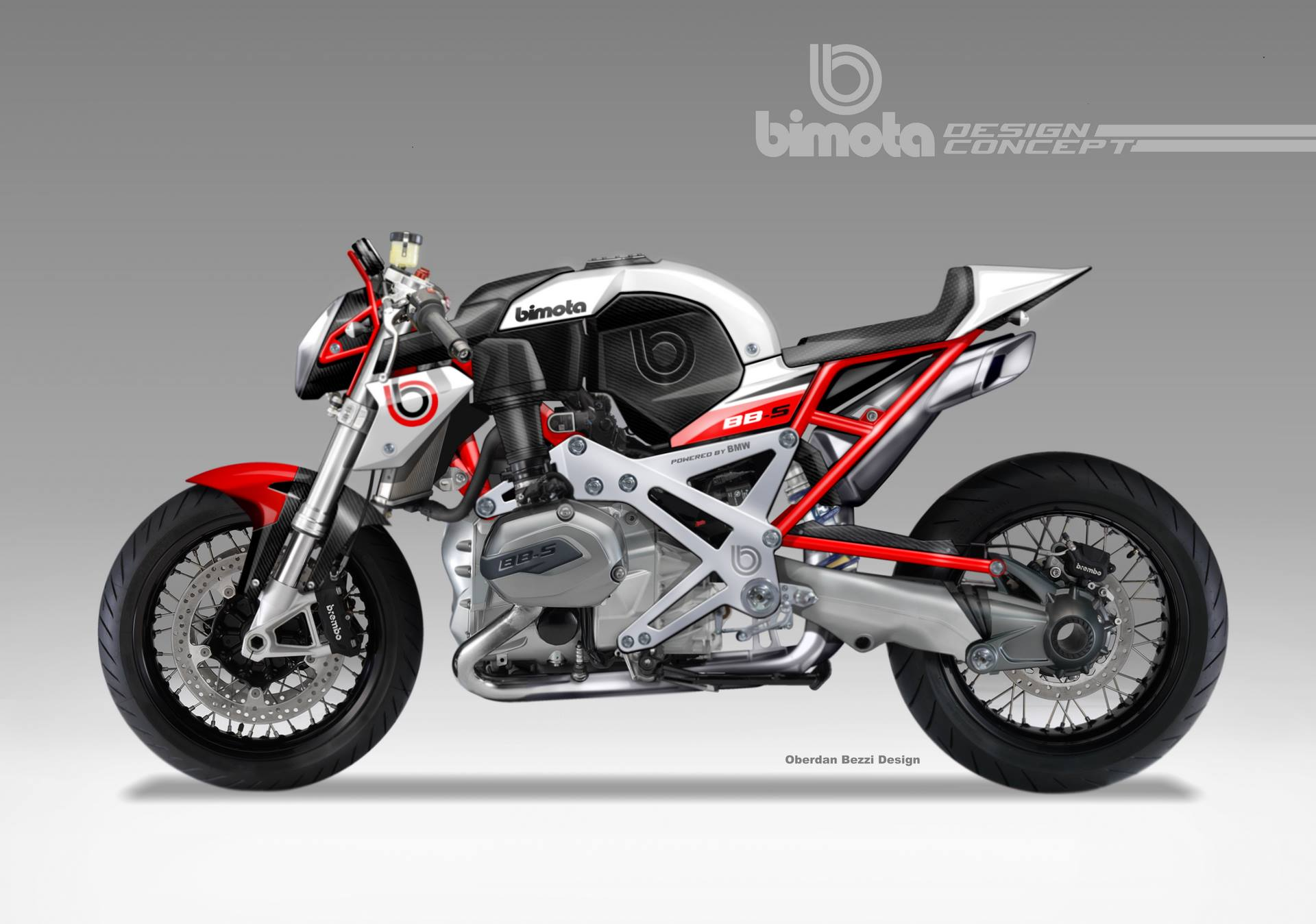 Bimota Cafe Racer Powered By A Bmw Boxer 1200cc Plant Take My Money Autoevolution