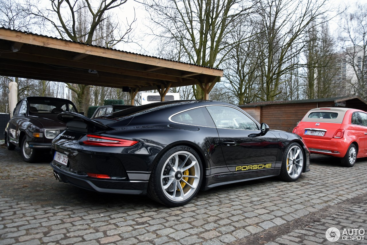 Black 2018 Porsche 911 GT3 Touring Package Shows Sleek ...