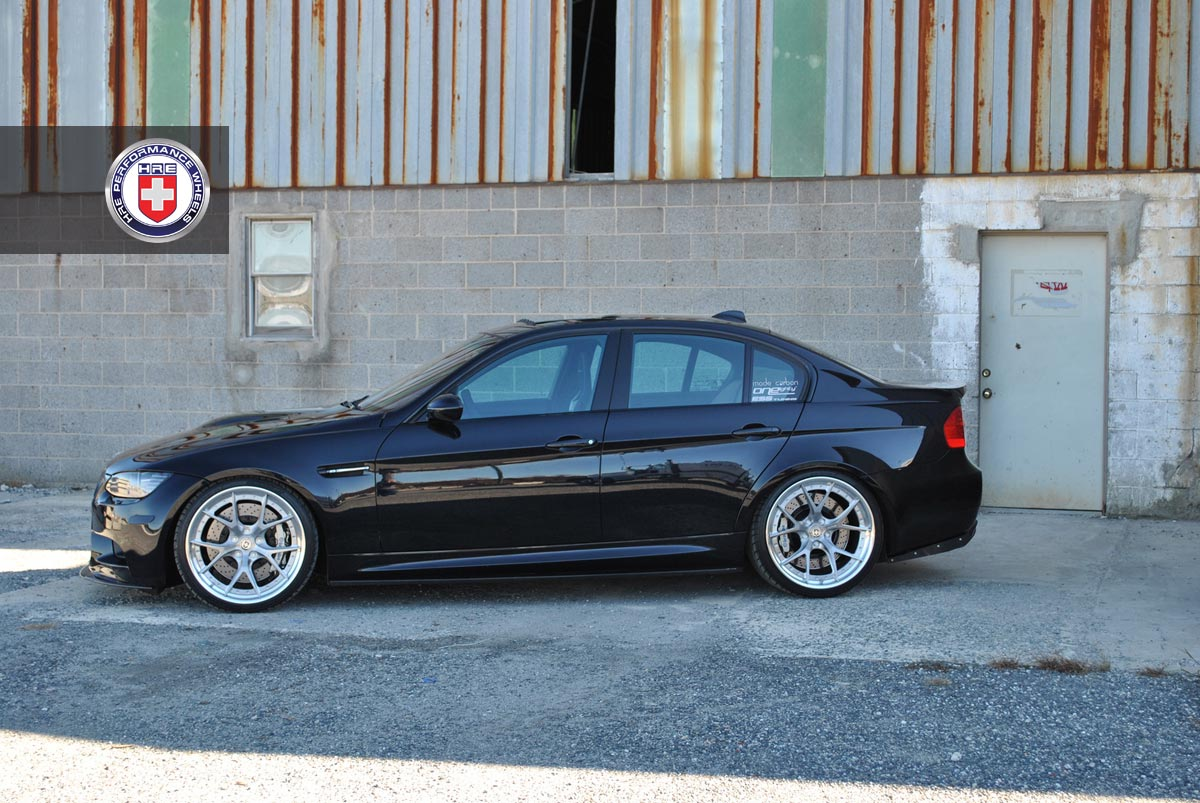 black bmw e90 m3 on hres is simply beautiful autoevolution. Black Bedroom Furniture Sets. Home Design Ideas