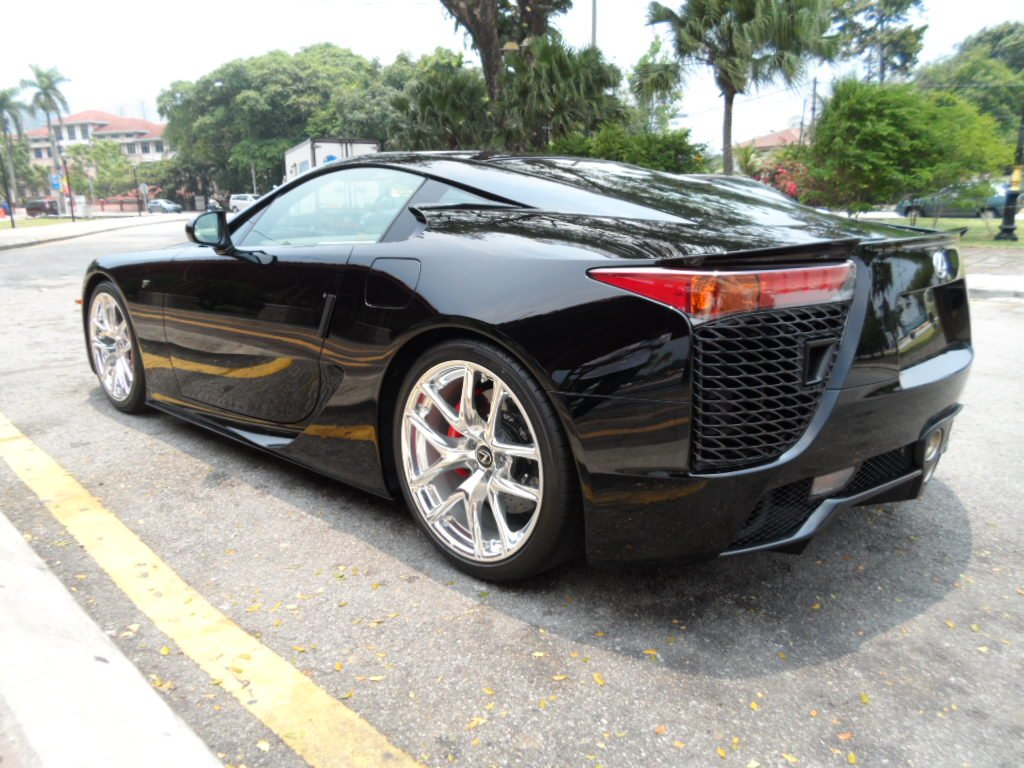 Black lexus lfa for sale in the uk what 39 s wrong with the
