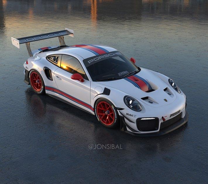 Black Martini Porsche 911 GT2 RS Clubsport Looks Like a
