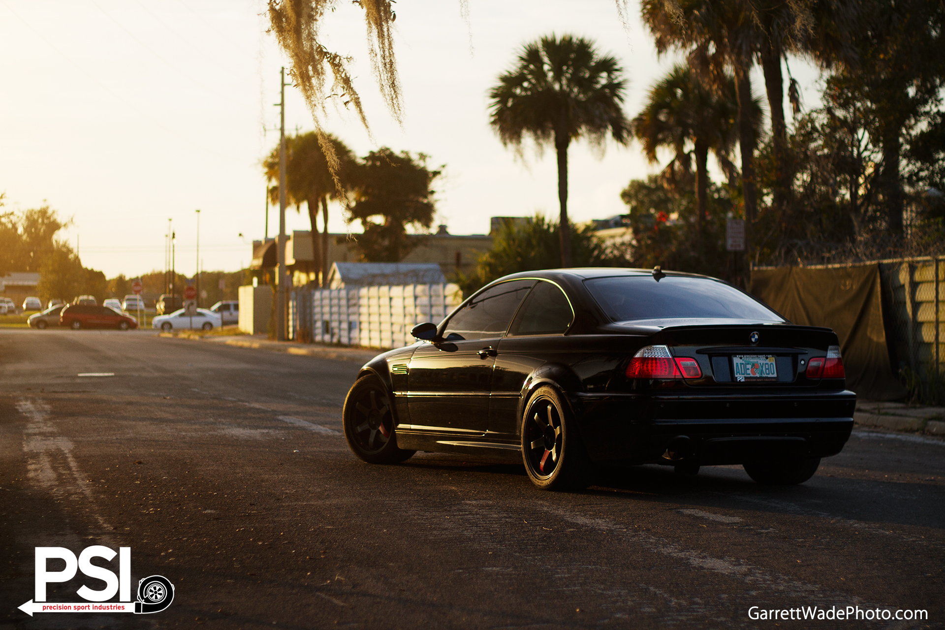 Black on Black BMW E46 M3 from PSI Has 520 HP - autoevolution