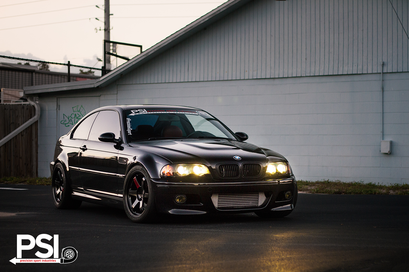 Black On Black Bmw E46 M3 From Psi Has 520 Hp Autoevolution