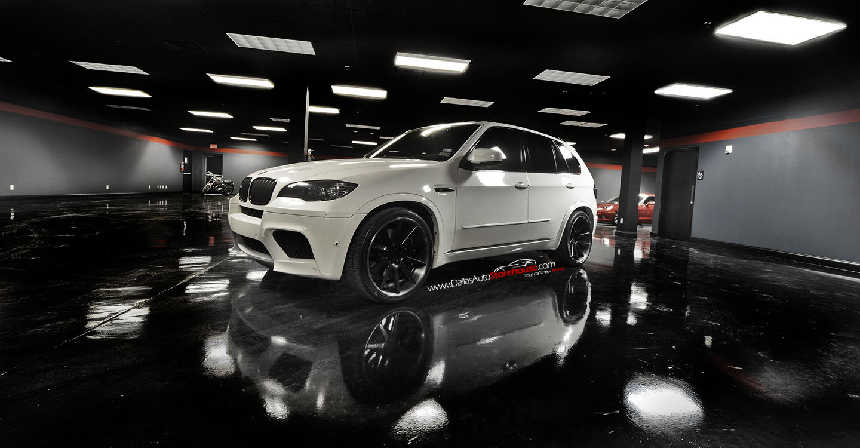 Black Amp White Bmw X5 M For Sale Autoevolution