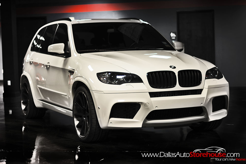 Black Amp White Bmw X5 M For Sale Autoevolution