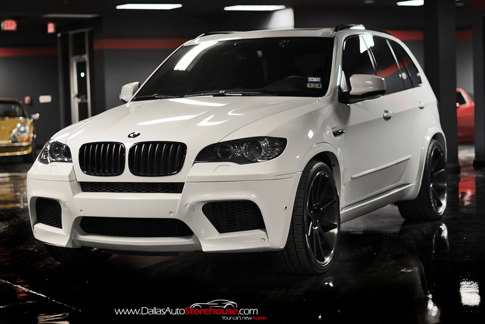 BMW Pre Owned >> Black & White BMW X5 M for Sale - autoevolution