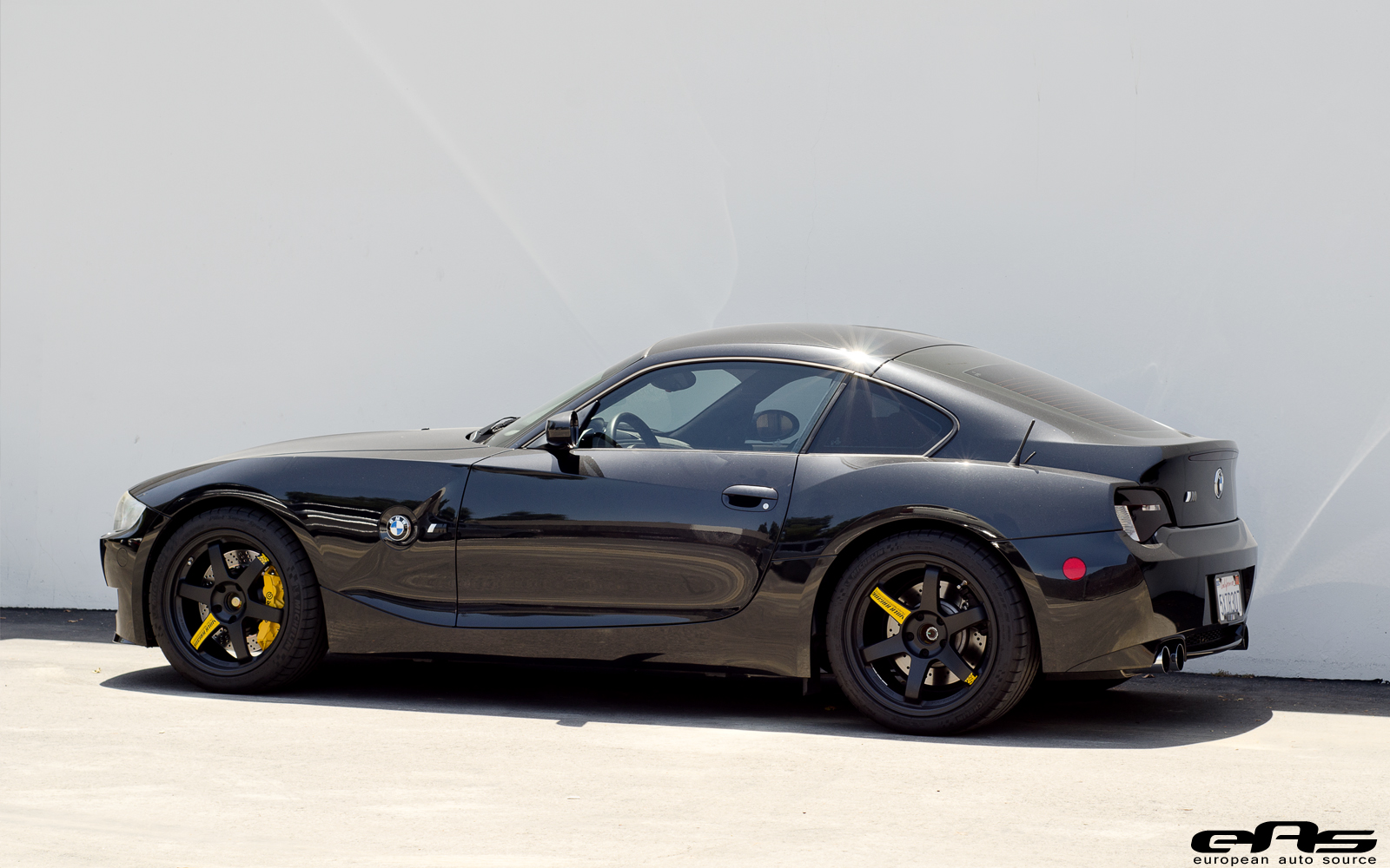 Black&Yellow BMW E86 Z4 M Is Worthy of Darth Vader's Car ...
