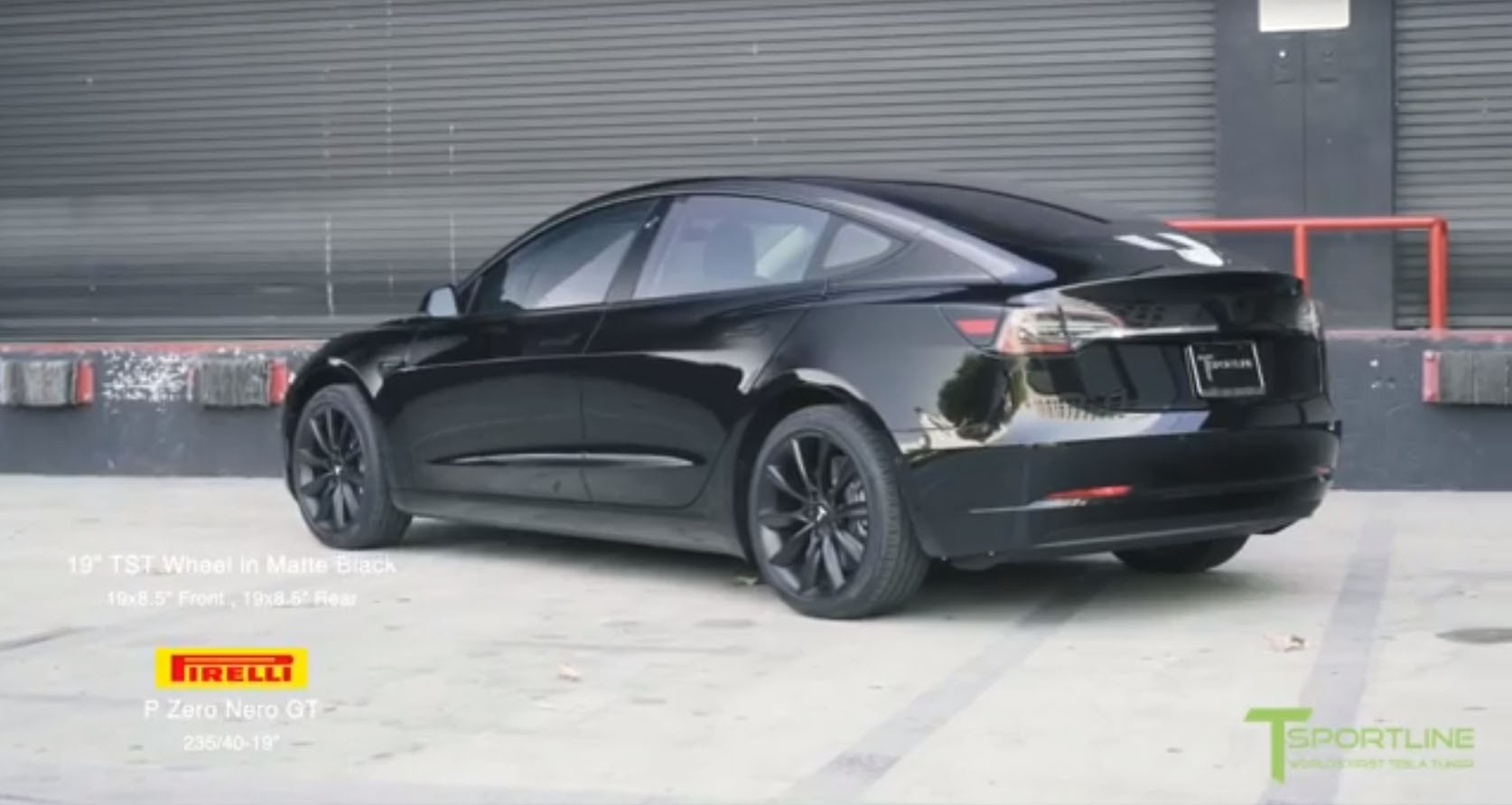 Hedendaags Blacked-Out Tesla Model 3 Looks Set to Do a Drive-by Shooting GV-88