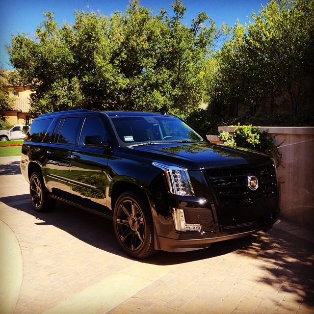 Cadillac Escalade 2015 Used: Blink-182's Travis Barker Drops A 2015 Escalade: Already