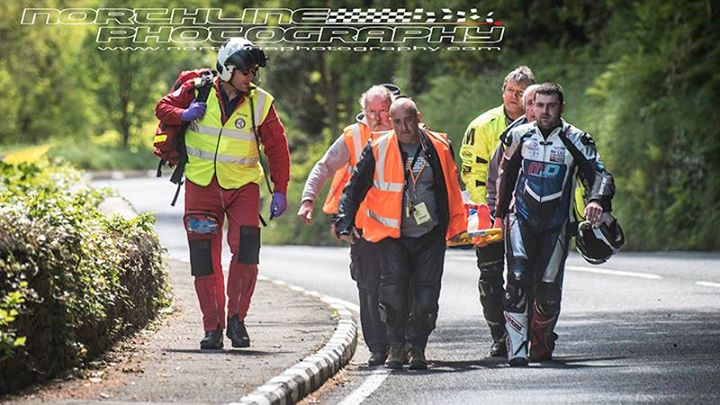 Blood Is Thicker Than Water Michael Dunlop Halts Practice