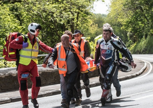 Nissan Maxima Nismo 2017 >> Blood Is Thicker than Water: Michael Dunlop Halts Practice to Carry His Injured Brother on a ...