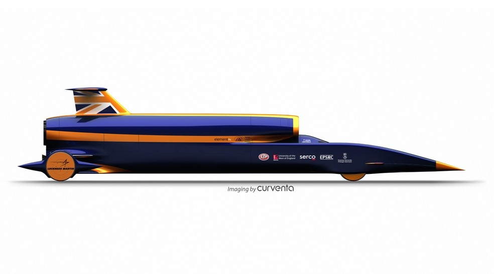 Bloodhound Ssc Hybrid Rocket Motor Gets Tested Set To