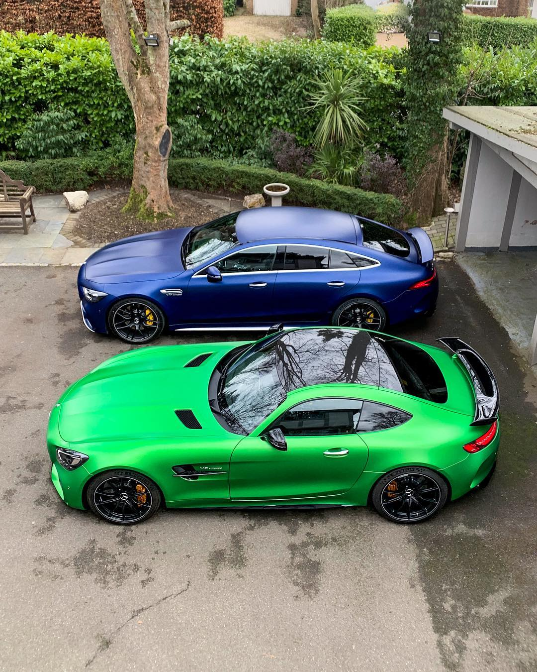 Baby Blue Mercedes-AMG GT R Stands Out In The Supercar
