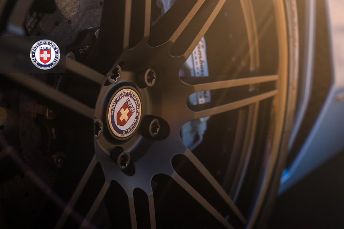 Фото | Чёрные матовые диски HRE RS101