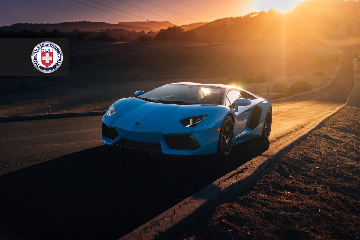 Фото | Суперкар Lamborghini Aventador Roadster