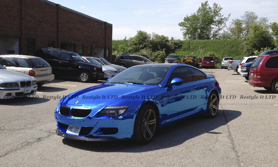 Blue Chrome Bmw E63 M6 Hails From Canada Autoevolution