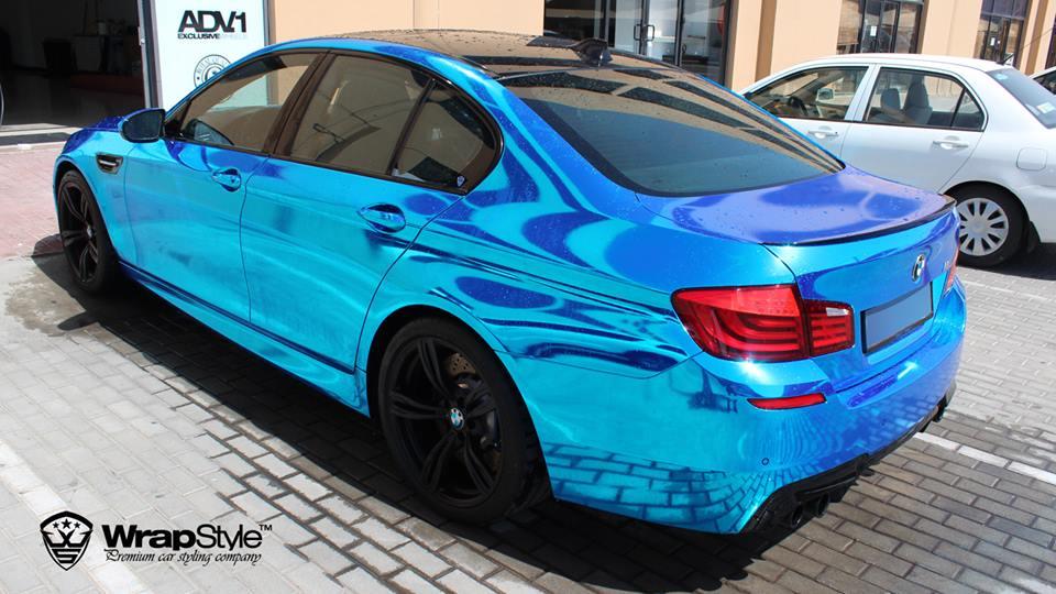 Blue Chrome BMW M5 Will Haunt Your Dreams - autoevolution