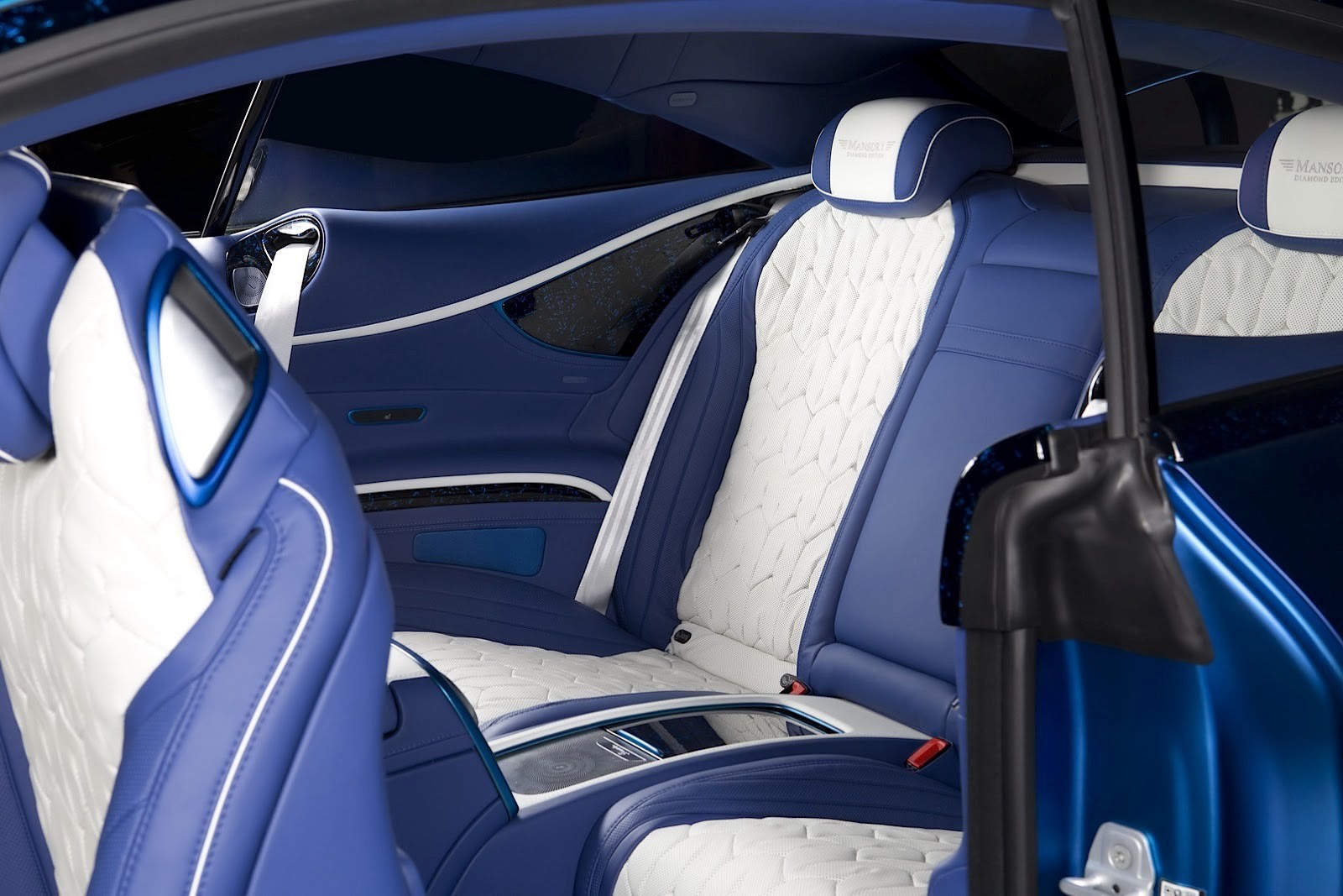Blue Is the New Black for the S63 AMG Coupe Diamond ...