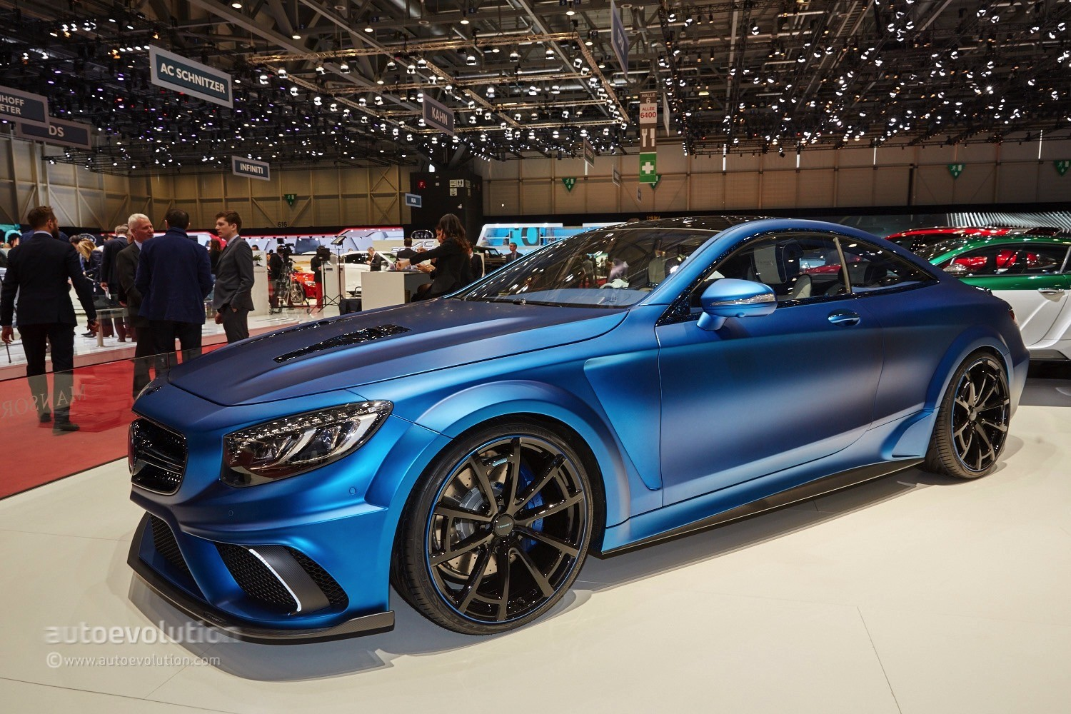 Blue Is The New Black For The S63 Amg Coupe Diamond