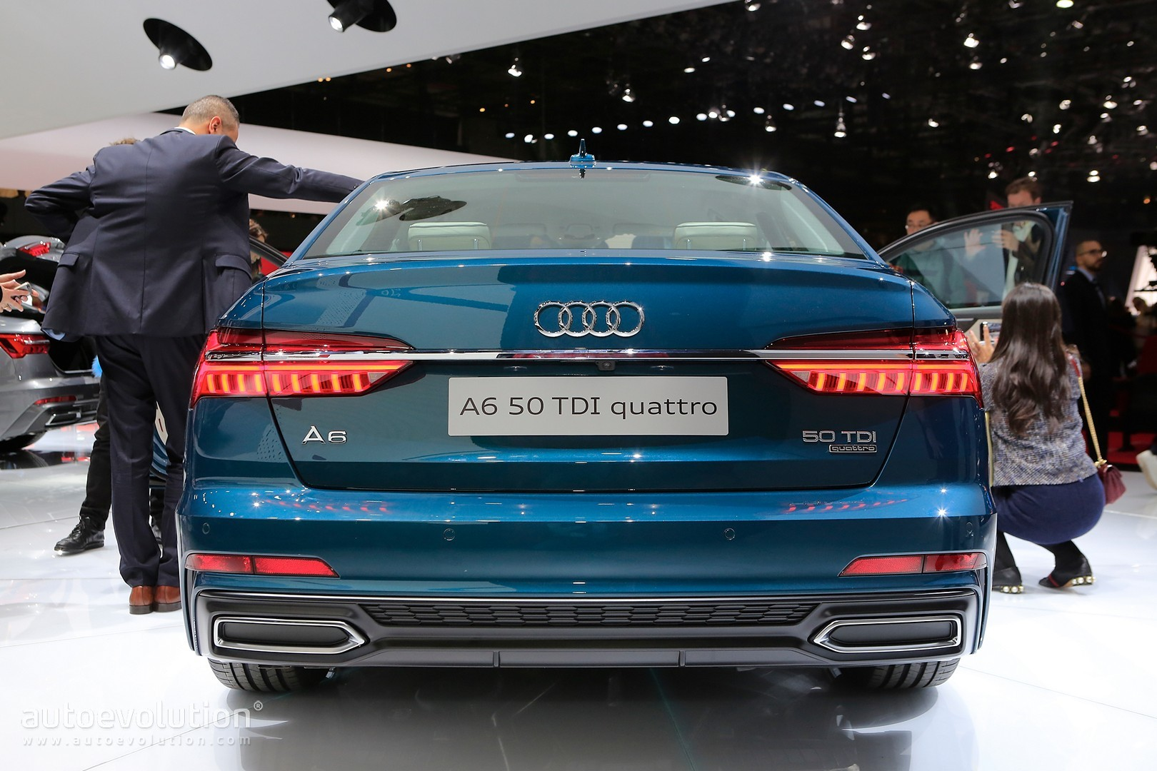Blue Is The Right Color For Audi A In Geneva Autoevolution - Audi a6 colors