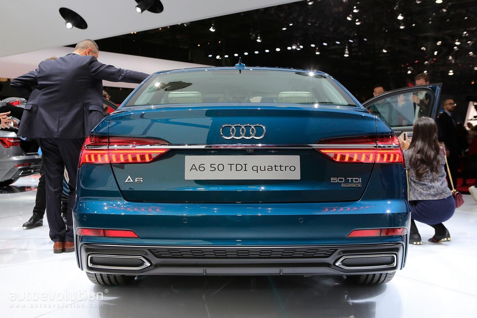 Blue Is The Right Color For 2019 Audi A6 In Geneva Autoevolution