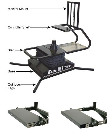 Blue Tiger Motion Simulator For More Realistic Games Autoevolution