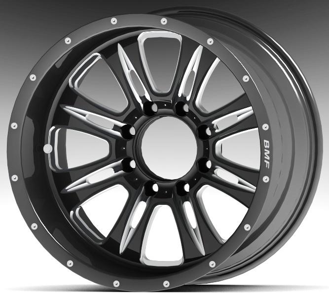 Bmf wheels logo
