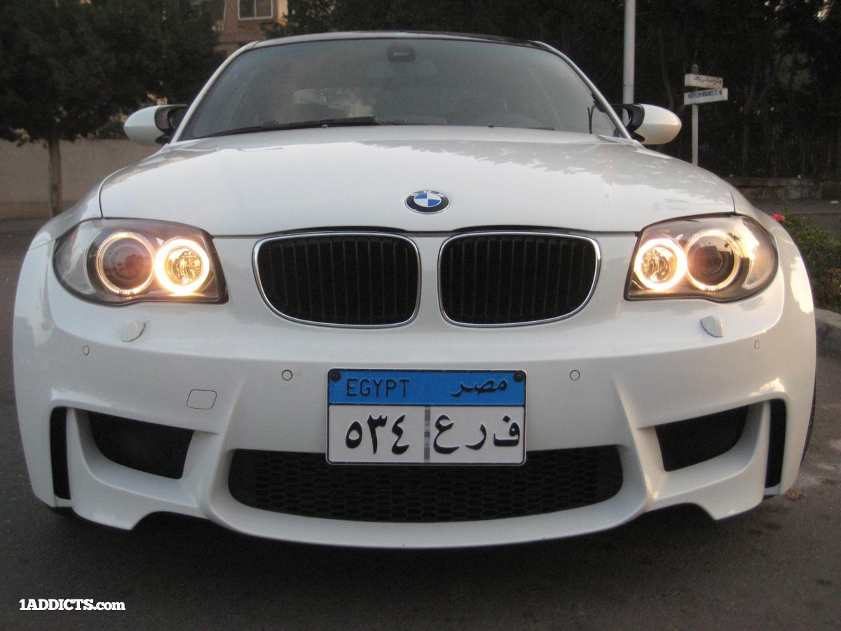 Bmw 1 Series Coupe Gets M3 V8 Engine In Egypt Autoevolution