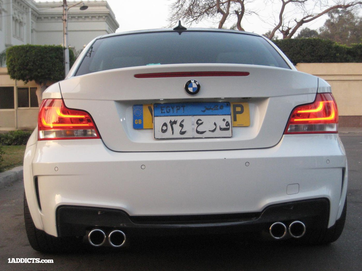 BMW 1-Series Coupe Gets M3 V8 Engine in Egypt - autoevolution